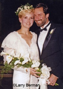 October 1987 at our wedding