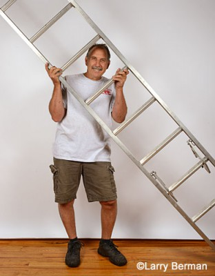 Bob and the big ladder