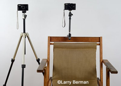 tripod and chair pod camera supports