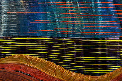 Abstract Composition of Nina Falk's Waves