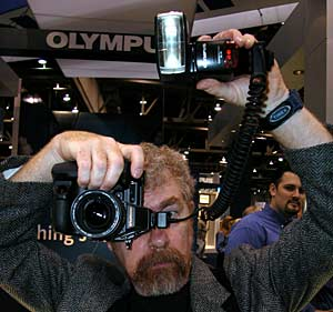 The Olympus E-20N and FL-40 Flash