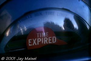 � 2001 Jay Maisel - Time Expired