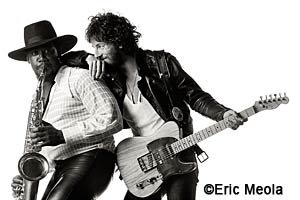 Bruce Springsteen's Born to Run album cover �Eric Meola
