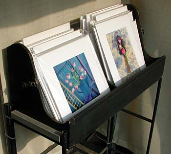 Preparing prints for display sale for Sell art prints online