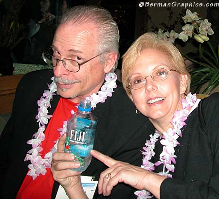 Peter iNove and Mary Berman