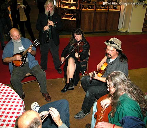 Bluegrass at the ODC Winterfair