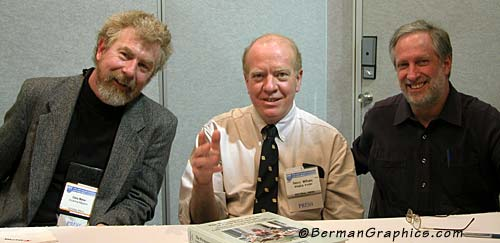 Chris Maher, Henry Wilhelm and Larry Berman