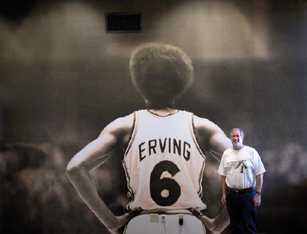 The largest photograph of Julius Erving ever made