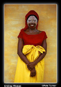 Smiling Woman by Pete Turner