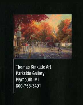 thomas kinkade as in the 2006 ann arbor art fair program