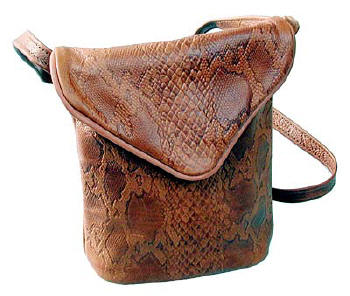 Leather Handbag by Mark Mowen