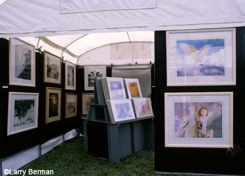 Exhibition Booth Photography : Art show booth formatting images for zapp juried art services and